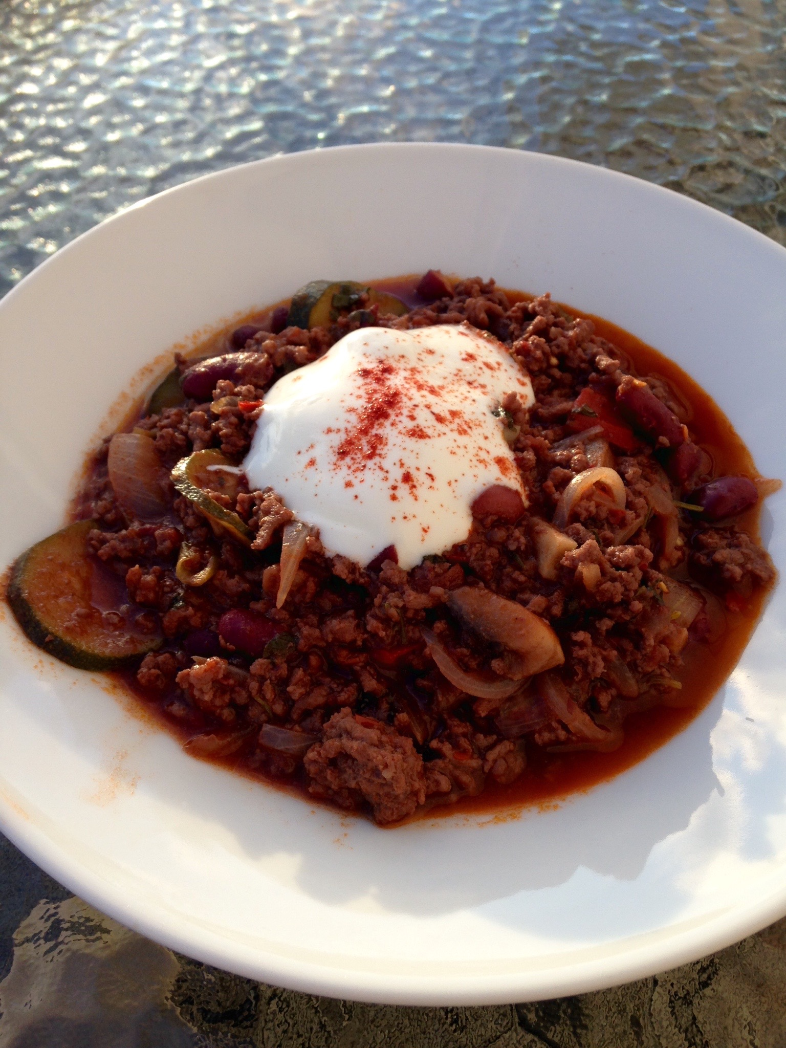 recipe of the week - Low-Carb Beef Chilli